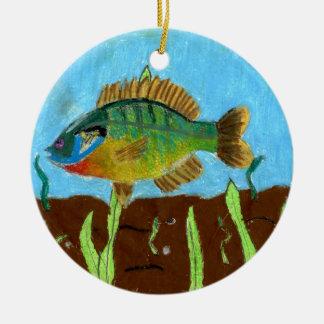 Arte que gana de K. Benoit - grado 4 Adorno De Navidad