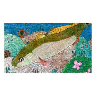 Arte que gana de M. Groves - grado 12 Tarjetas De Visita