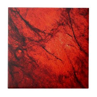 arte radial rojo del resplandor de la falta de def tejas  ceramicas