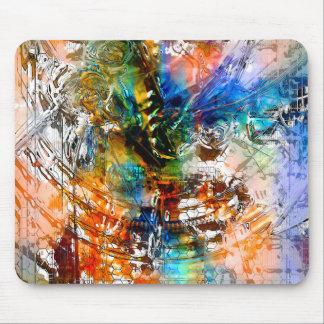 Arte radical 4 Mousepad