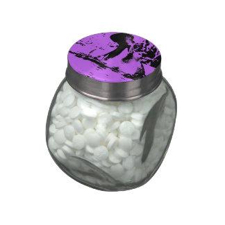 Arte raro - hipopótamo (c) frascos de cristal jelly belly