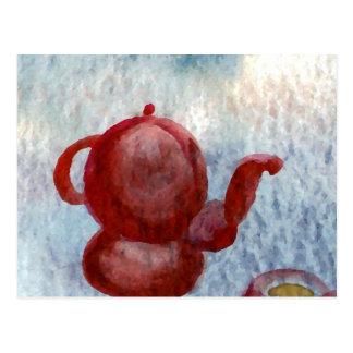 Arte redondeado café del café de CricketDiane del Tarjetas Postales