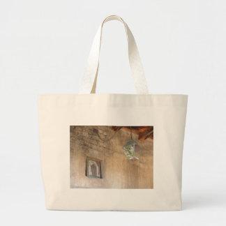 Arte religioso bolsas lienzo