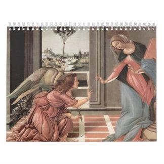 Arte religioso calendarios de pared