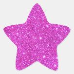 Arte reluciente de CricketDiane de la chispa de Calcomania Forma De Estrella