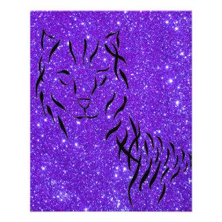 Arte reluciente del gato de CricketDiane de la chi Tarjetón