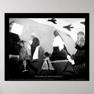 Arte renacentista de Harlem - la serie de la migra Póster