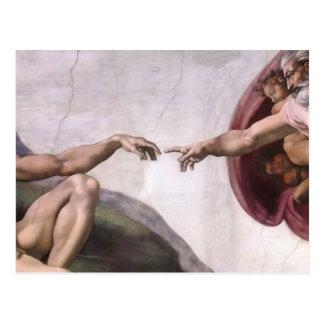 Arte renacentista de Miguel Ángel Tarjetas Postales