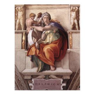 Arte renacentista de Miguel Ángel Postal