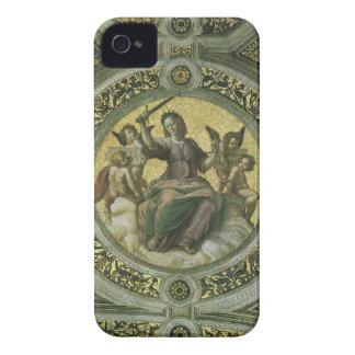 Arte renacentista del vintage, justicia por iPhone 4 Case-Mate coberturas