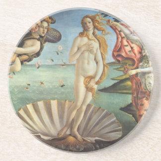 Arte renacentista, el nacimiento de Venus por Posavasos Personalizados