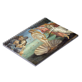 Arte renacentista, el nacimiento de Venus por Spiral Notebook