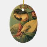 Arte renacentista, músico del ángel, Melozzo DA Ornamento Para Reyes Magos