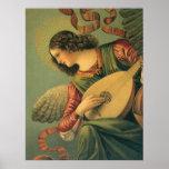 Arte renacentista, músico del ángel, Melozzo DA Fo Poster