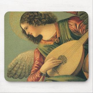 Arte renacentista músico del ángel Melozzo DA Fo Tapete De Raton