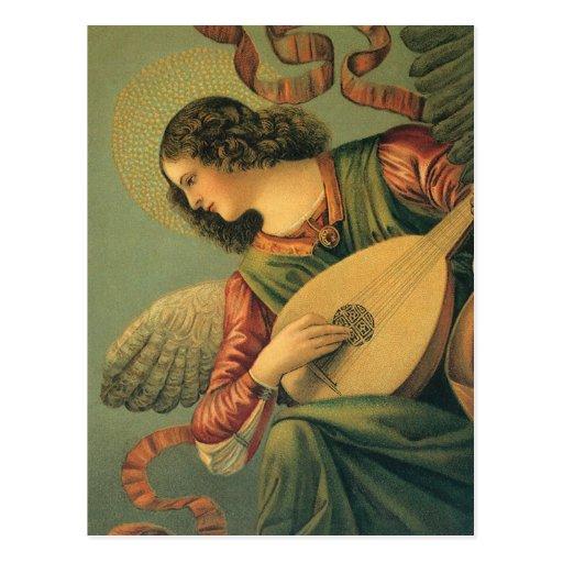 Arte renacentista, músico del ángel, Melozzo DA Fo Postales