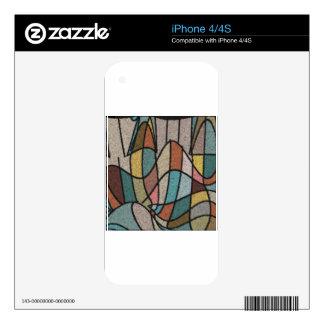 Arte retro calcomanías para el iPhone 4S