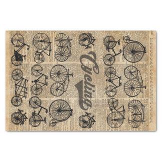 Arte retro del diccionario del ejemplo del vintage papel de seda pequeño