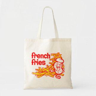 Arte retro del paquete de las patatas fritas del k