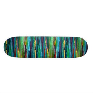 Arte retro moderno abstracto contemporáneo del ~ d tablas de skate