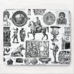 Arte romano alfombrilla de raton