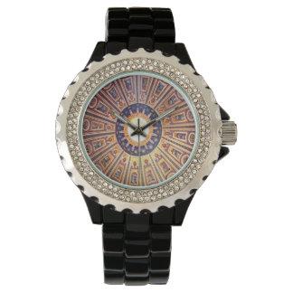 Arte romano de Vatican Italia del mosaico Relojes De Mano