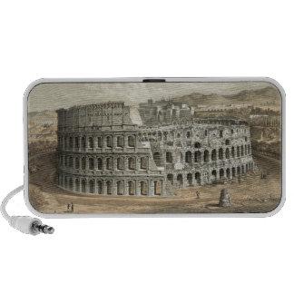 Arte romano del vintage del coliseo portátil altavoz