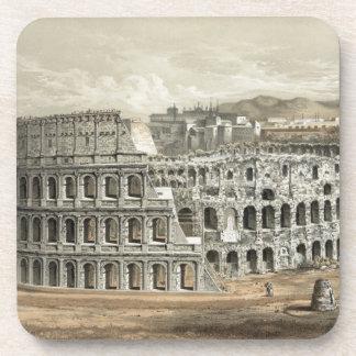 Arte romano del vintage del coliseo posavaso