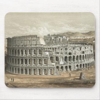 Arte romano del vintage del coliseo tapetes de ratón