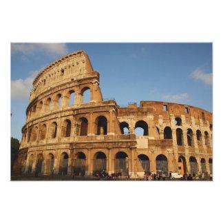 Arte romano. El Colosseum o el Flavian 3 Fotografias