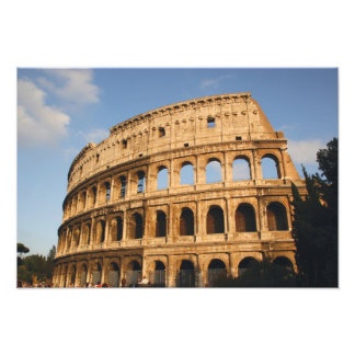 Arte romano. El Colosseum o el Flavian 3 Fotografía