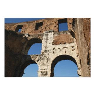 Arte romano. El Colosseum o el Flavian 4 Fotografías