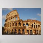 Arte romano. El Colosseum o el Flavian 4 Poster