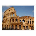 Arte romano. El Colosseum o el Flavian 4 Tarjeta Postal