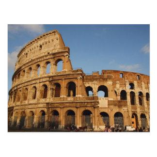 Arte romano El Colosseum o el Flavian 4 Tarjeta Postal
