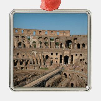 Arte romano. El Colosseum o el Flavian 6 Ornamentos De Navidad