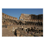 Arte romano. El Colosseum o el Flavian 6 Poster