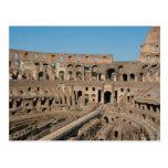 Arte romano. El Colosseum o el Flavian 6 Tarjetas Postales