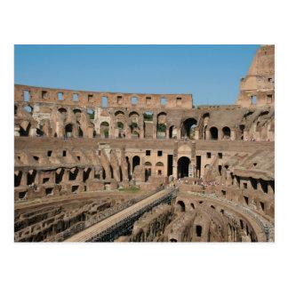 Arte romano El Colosseum o el Flavian 6 Tarjetas Postales