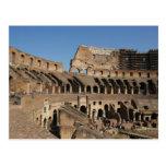 Arte romano. El Colosseum o el Flavian 7 Tarjeta Postal