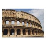 Arte romano. El Colosseum o el Flavian Fotografía
