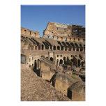Arte romano. El Colosseum o el Flavian Fotografías