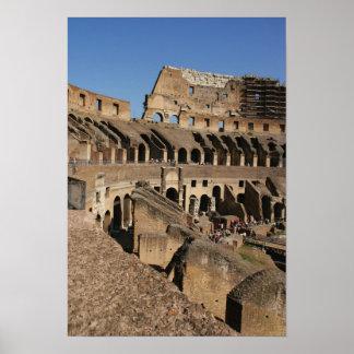 Arte romano. El Colosseum o el Flavian Poster