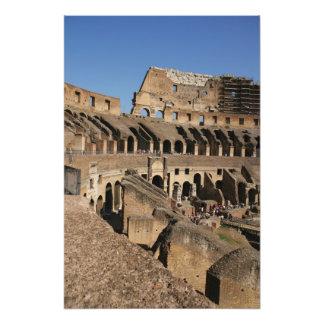 Arte romano. El Colosseum o el Flavian Fotos