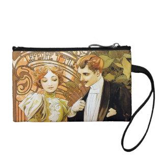 Arte romántico Nouveau del vintage del ligón de