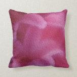 Arte rosado #1 - almohada de la pintura de la flor