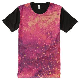 Arte rosado abstracto de la salpicadura de la