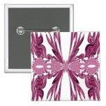 Arte rosado del fractal de la cinta pins