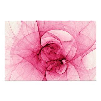 Arte rosado del fractal