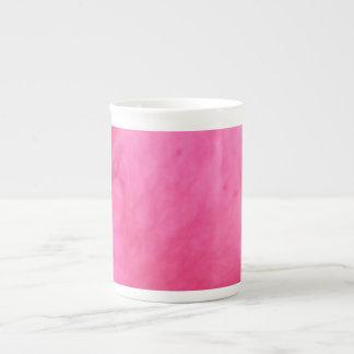 Arte rosado del pétalo color de rosa - decoracione tazas de china